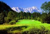 Golf und Berge